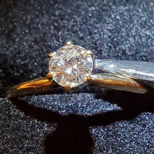 Jewelry - 1/3 Karat Diamond Solitaire Ring 8 w/ Appraisal